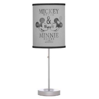 Mickey & Minnie | Est. 1928 Table Lamp