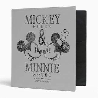 Mickey & Minnie | Est. 1928 Vinyl Binder