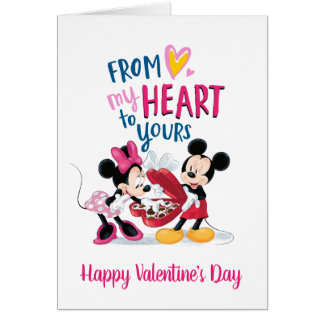 Mickey & Minnie | From My Heart to Yours Card