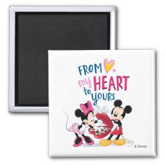 Mickey & Minnie | From My Heart to Yours Magnet