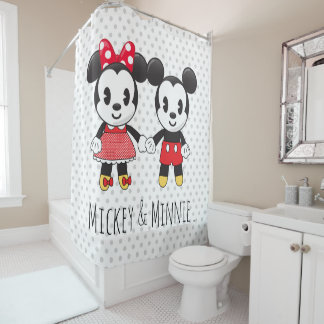 Mickey & Minnie Holding Hands Emoji