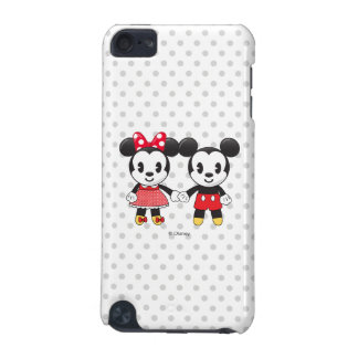 Mickey & Minnie Holding Hands Emoji iPod Touch 5G Cover