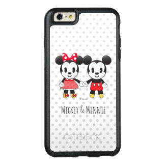 Mickey & Minnie Holding Hands Emoji OtterBox iPhone 6/6s Plus Case