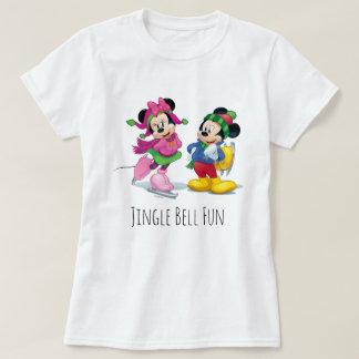 Mickey & Minnie Ice Skating T-Shirt