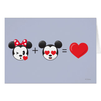 Mickey & Minnie | In Love Card