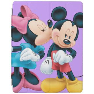 Mickey & Minnie   Kiss on Cheek iPad Cover