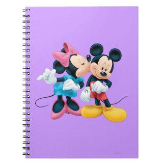 Mickey & Minnie | Kiss on Cheek Notebook