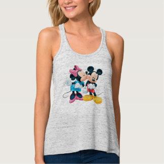 Mickey & Minnie | Kiss on Cheek Tank Top