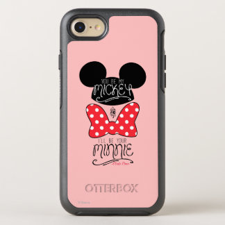 Mickey & Minnie | Love OtterBox Symmetry iPhone 7 Case