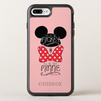 Mickey & Minnie   Love OtterBox Symmetry iPhone 7 Plus Case