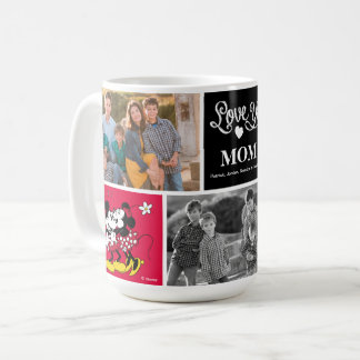 Mickey & Minnie | Love Ya with Photo Coffee Mug