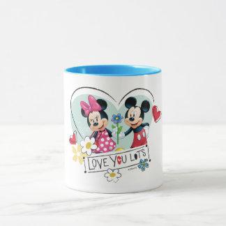 Mickey & Minnie | Love you Lots Mug