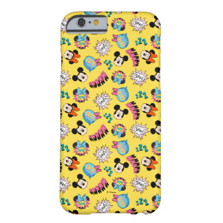 Mickey & Minnie | Super Hero Pop Pattern Barely There iPhone 6 Case