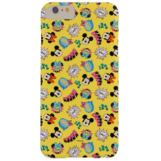Mickey & Minnie | Super Hero Pop Pattern Barely There iPhone 6 Plus Case