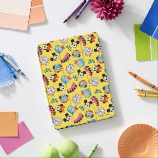 Mickey & Minnie | Super Hero Pop Pattern iPad Air Cover
