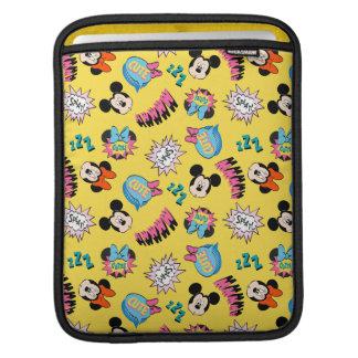 Mickey & Minnie | Super Hero Pop Pattern iPad Sleeve