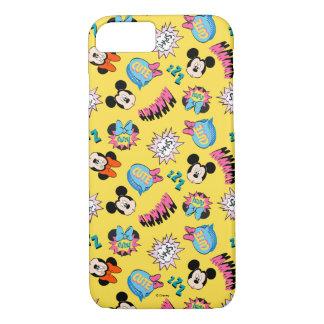 Mickey & Minnie   Super Hero Pop Pattern iPhone 8/7 Case
