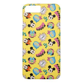Mickey & Minnie | Super Hero Pop Pattern iPhone 8 Plus/7 Plus Case