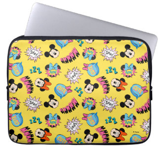 Mickey & Minnie | Super Hero Pop Pattern Laptop Sleeve