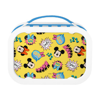 Mickey & Minnie | Super Hero Pop Pattern Lunchbox
