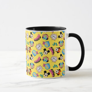 Mickey & Minnie | Super Hero Pop Pattern Mug