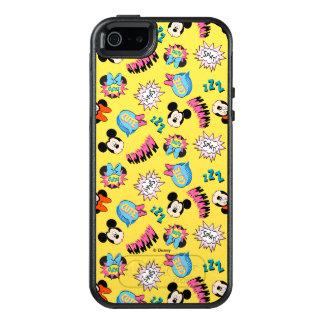 Mickey & Minnie | Super Hero Pop Pattern OtterBox iPhone 5/5s/SE Case