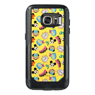 Mickey & Minnie | Super Hero Pop Pattern OtterBox Samsung Galaxy S7 Case