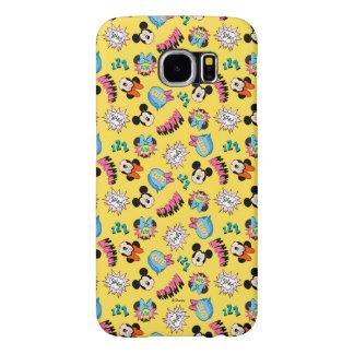 Mickey & Minnie | Super Hero Pop Pattern Samsung Galaxy S6 Cases
