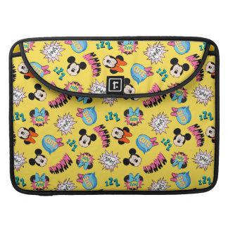Mickey & Minnie | Super Hero Pop Pattern Sleeve For MacBooks