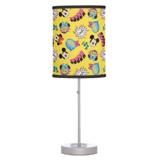 Mickey & Minnie | Super Hero Pop Pattern Table Lamp