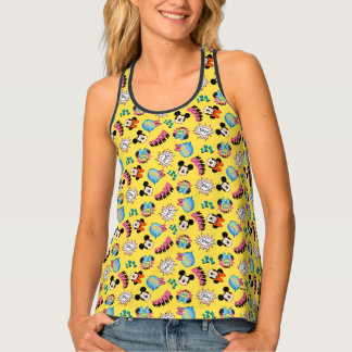 Mickey & Minnie | Super Hero Pop Pattern Tank Top