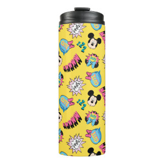 Mickey & Minnie | Super Hero Pop Pattern Thermal Tumbler