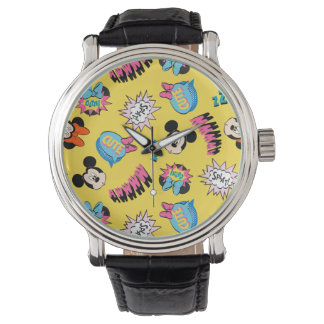 Mickey & Minnie | Super Hero Pop Pattern Watch