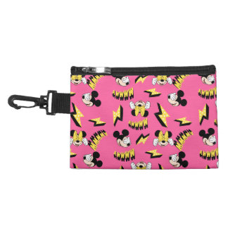 Mickey & Minnie | Super Hero Power Pattern Accessory Bags