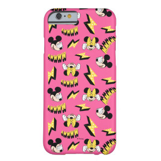 Mickey & Minnie | Super Hero Power Pattern Barely There iPhone 6 Case