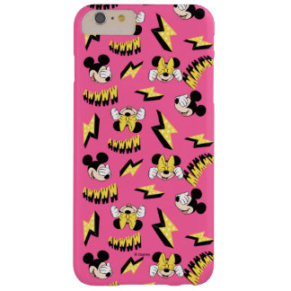 Mickey & Minnie | Super Hero Power Pattern Barely There iPhone 6 Plus Case