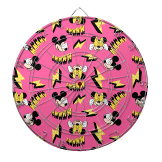 Mickey & Minnie | Super Hero Power Pattern Dart Boards