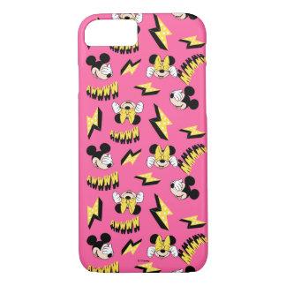 Mickey & Minnie   Super Hero Power Pattern iPhone 8/7 Case
