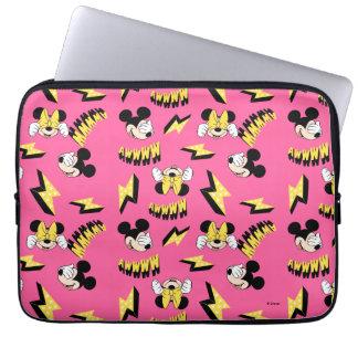 Mickey & Minnie | Super Hero Power Pattern Laptop Sleeve