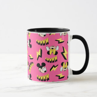 Mickey & Minnie | Super Hero Power Pattern Mug