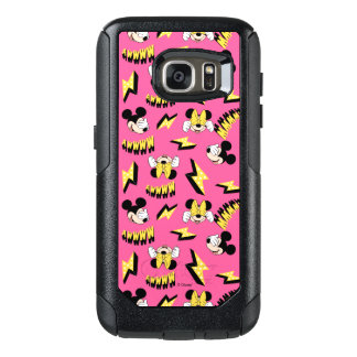 Mickey & Minnie | Super Hero Power Pattern OtterBox Samsung Galaxy S7 Case