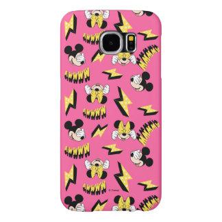 Mickey & Minnie | Super Hero Power Pattern Samsung Galaxy S6 Cases