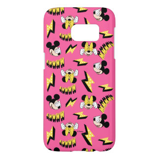 Mickey & Minnie | Super Hero Power Pattern Samsung Galaxy S7 Case