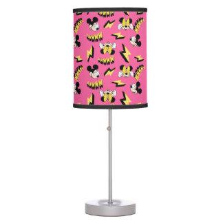 Mickey & Minnie | Super Hero Power Pattern Table Lamp