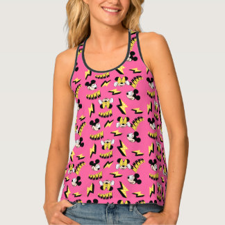 Mickey & Minnie | Super Hero Power Pattern Tank Top