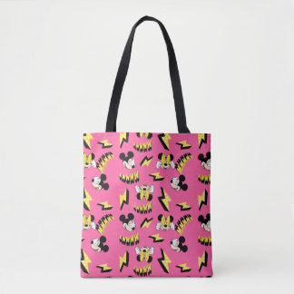 Mickey & Minnie | Super Hero Power Pattern Tote Bag