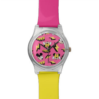 Mickey & Minnie | Super Hero Power Pattern Watch