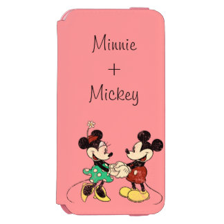 Mickey & Minnie | Vintage Incipio Watson™ iPhone 6 Wallet Case