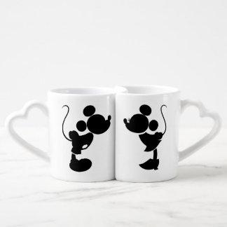 Mickey & Minnie Wedding | Silhouette Coffee Mug Set