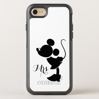 Mickey & Minnie Wedding | Silhouette OtterBox Symmetry iPhone 7 Case